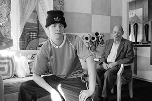 Marcus Ewert and Alan Ginsberg - October 15, 1996