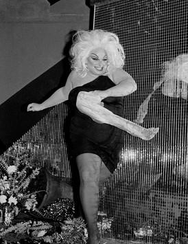 Divine at Trockadero Dance Club, October 29, 1978