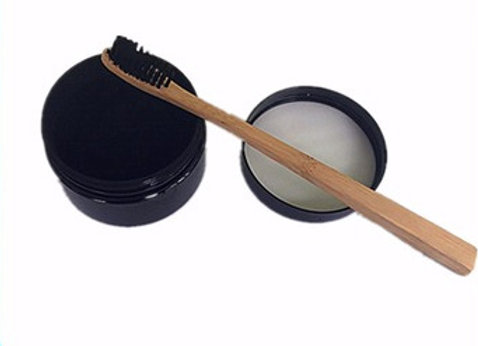 Activated Charcoal teeth whitening + Tooth brush