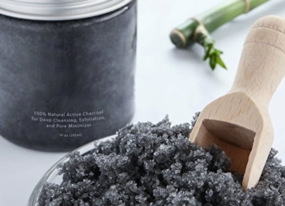 Activated Charcoal + Coffee Face scrub
