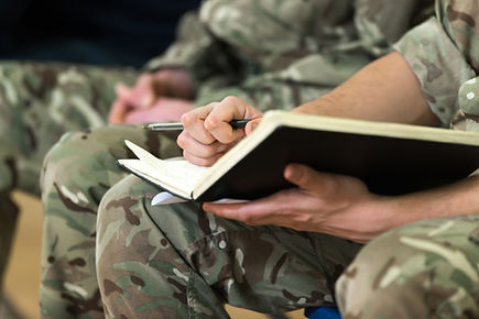 Providing role play training with the Armed Forces