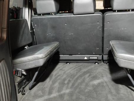 Refurbished Leather Seats in G-wagon