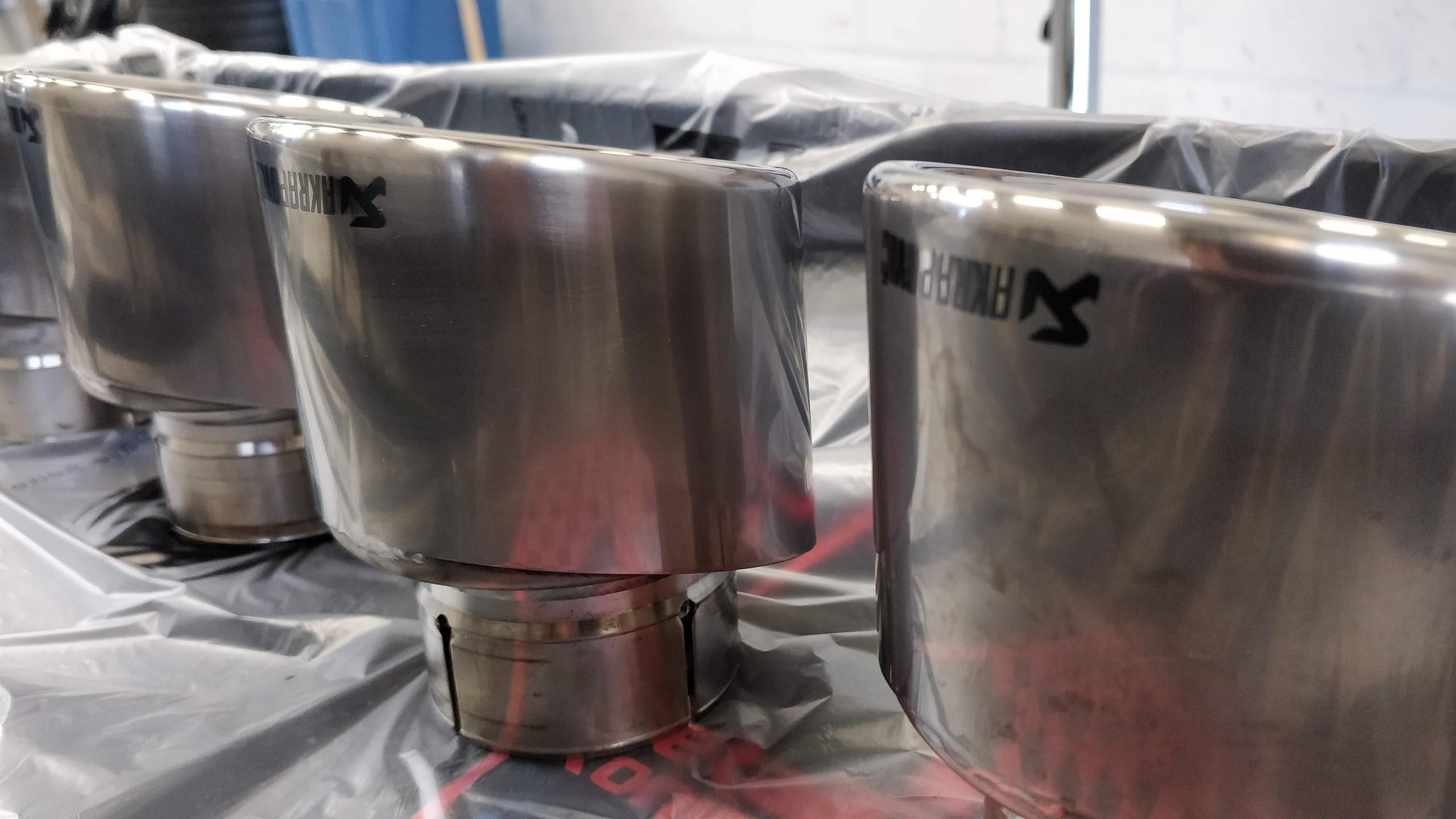 We polish exhaust tips