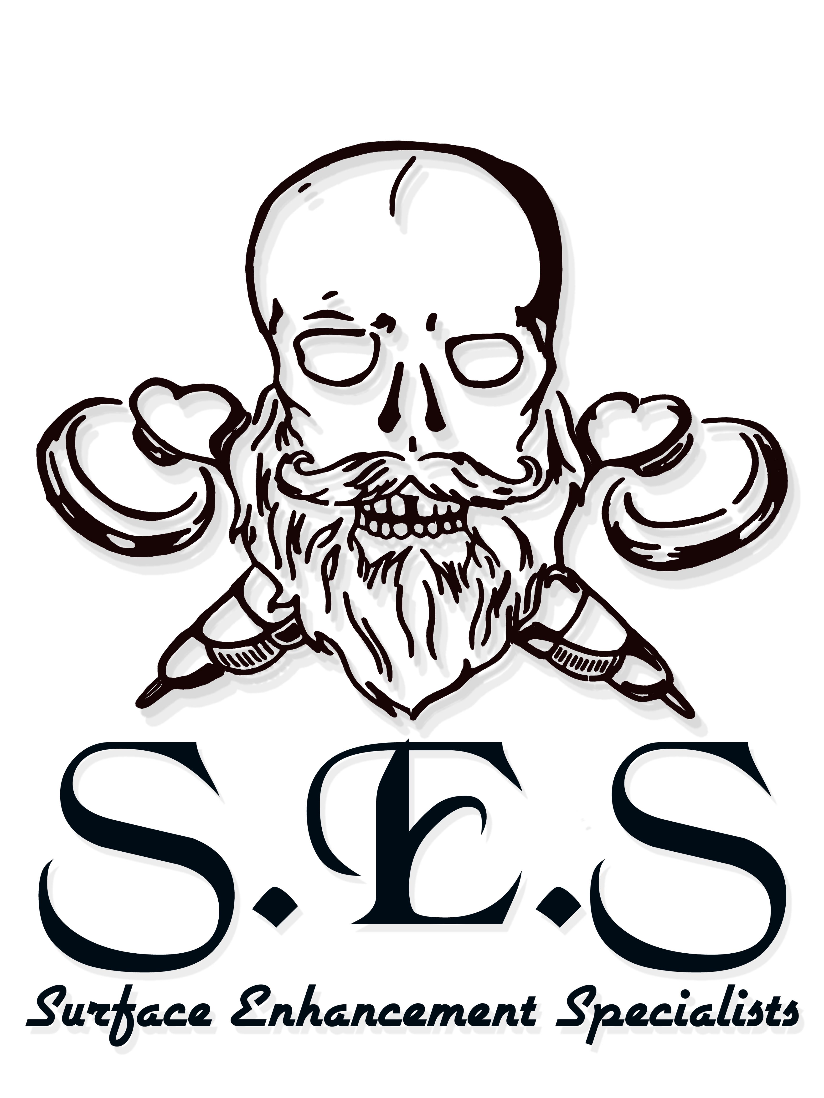 SES Skull Logo