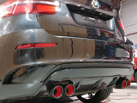 Exhausts Can Get the Works!