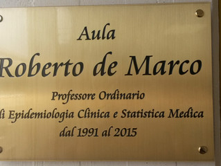 Memorial for Professor Roberto de Marco
