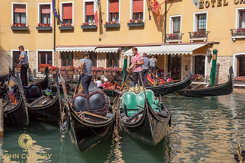"""""""Gondolas"""" - Venice Italy"""