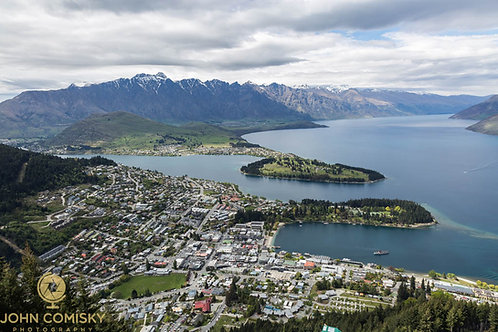 Queenstown from Above 1