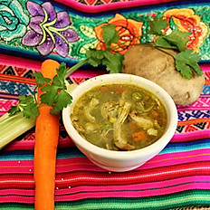 AGUADITO DE POLLO (Peruvian chicken cilantro soup)