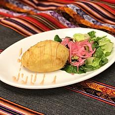 PAPA RELLENA (Peruvian stuffed potato)