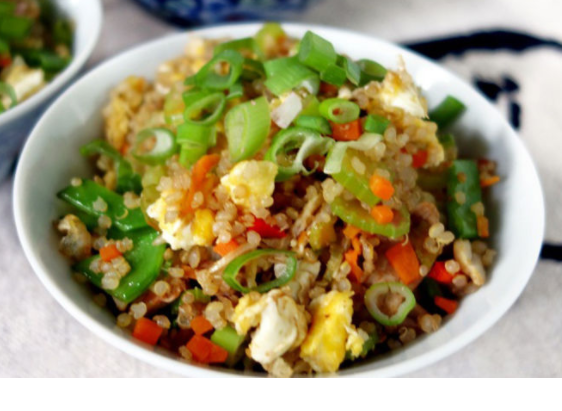 Quinoa with Chicken and Veggies
