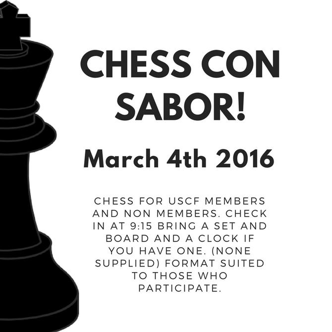 Chess con Sabor!