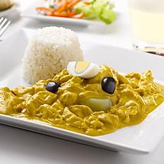 AJI DE GALLINA (Chicken in Spicy Sauce)