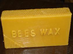 Pure natural beeswax