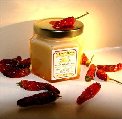 Whipped honey - Hot pepper