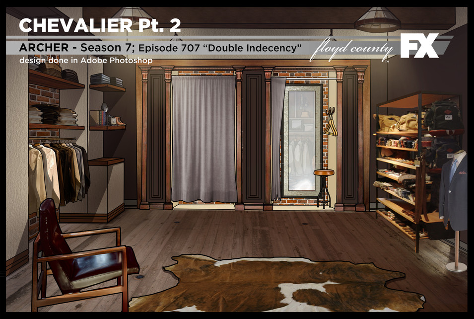 Chevalier Changing Room - Reverse