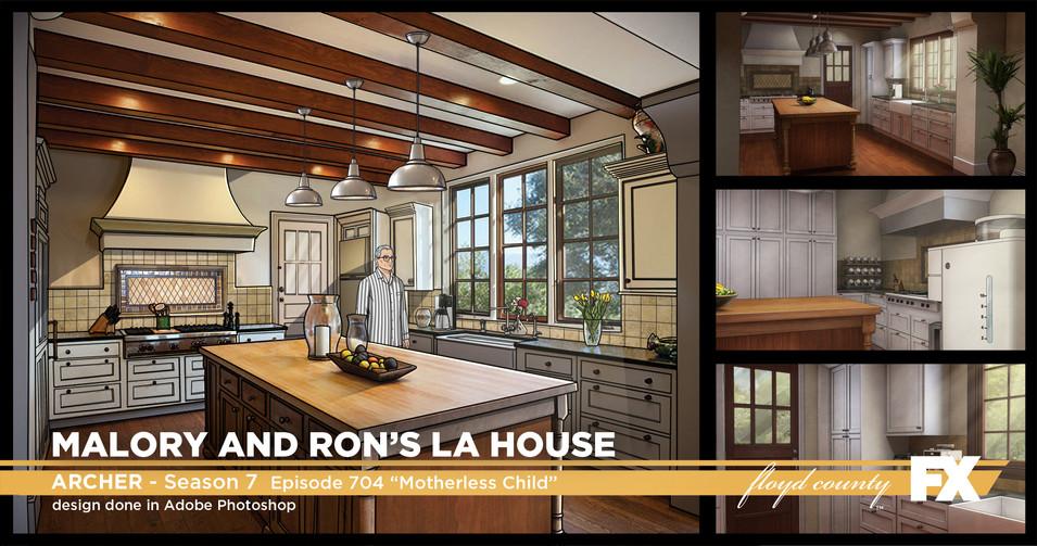 Malory and Ron's LA home
