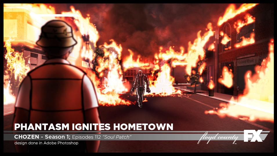 Phantasm Ignites Hometown