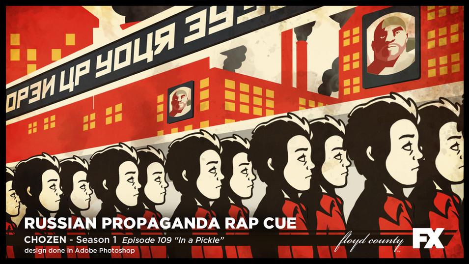 Russian Propaganda Rap Cue - Intro