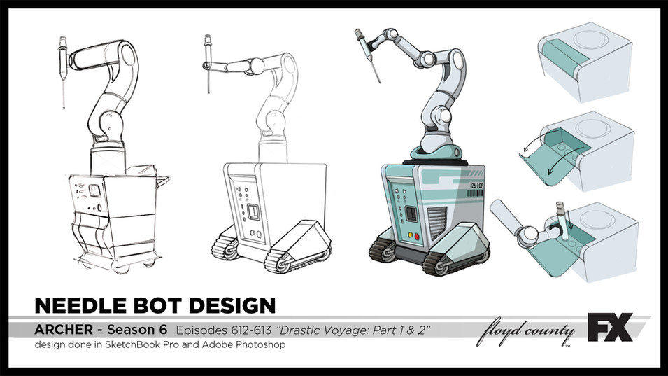 Needle Bot Design