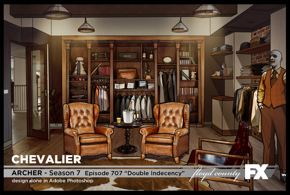 Chevalier Changing Room