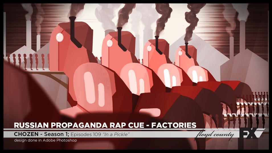 Russian Propaganda Rap Cue - Factories