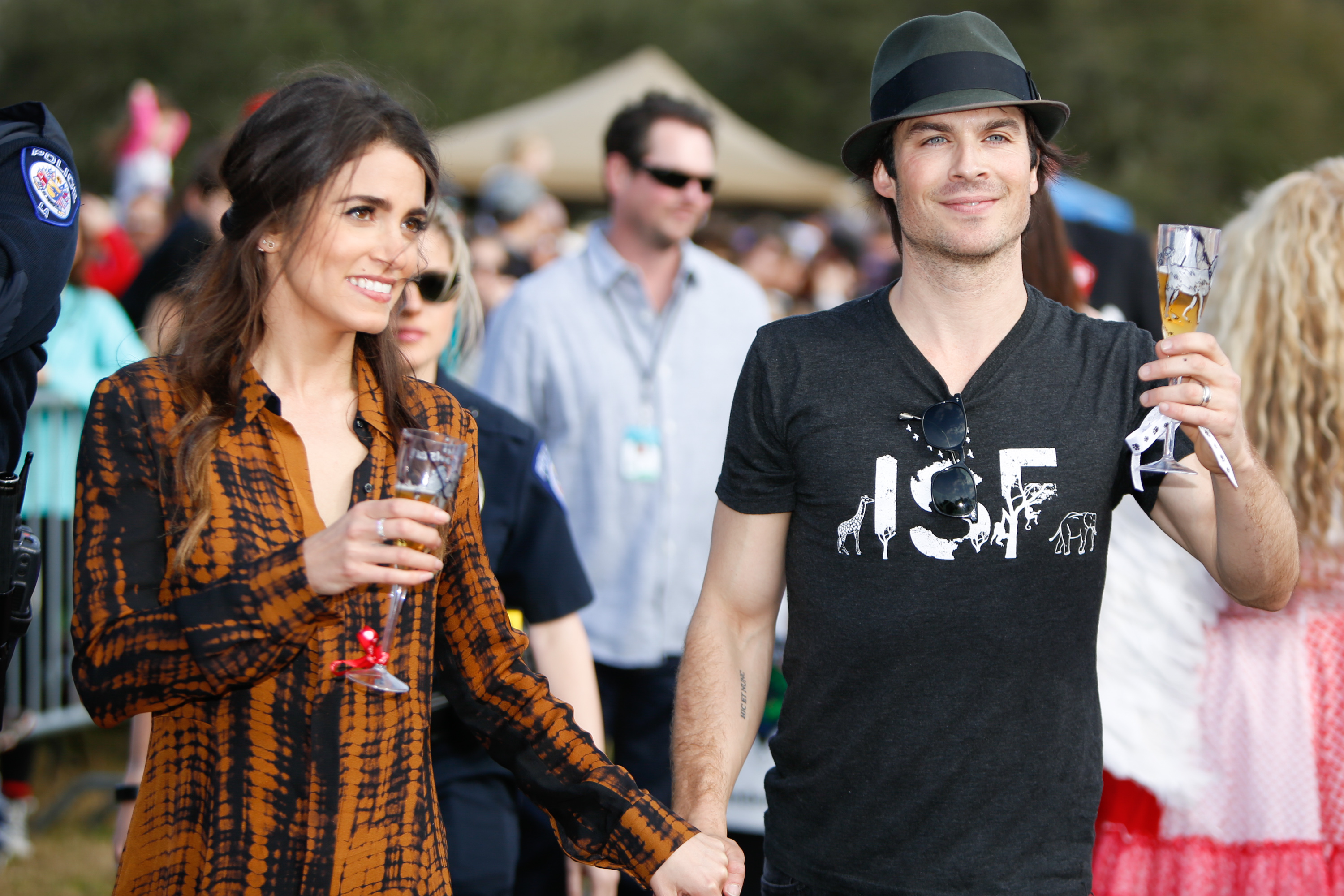 Ian Somerhalder and Nikki ReedJason Forte