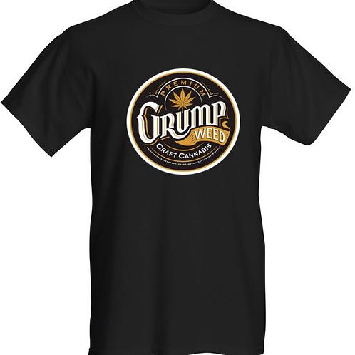 Black t-shirt with original logo