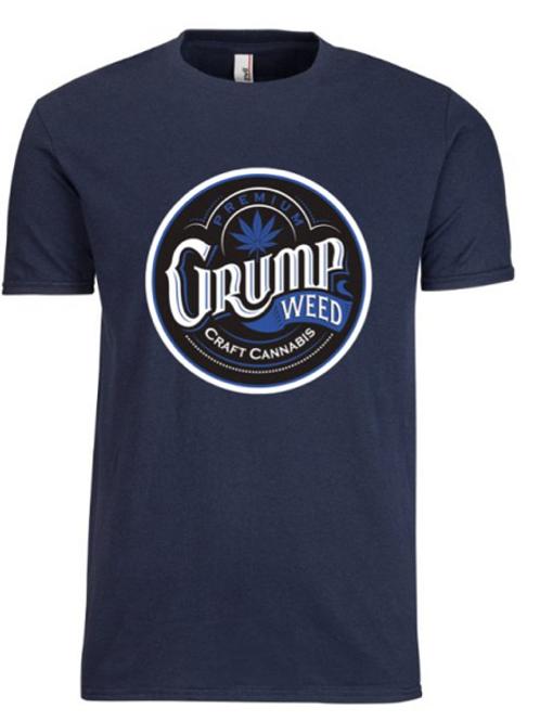 Mens Blue/Blue T-shirt