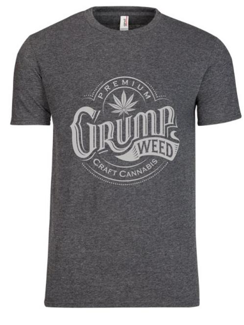 Grey/Grey Logo T-shirt