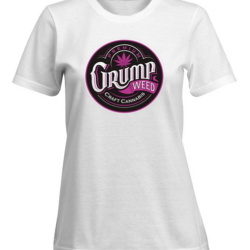Women's Pink/White T-shirt