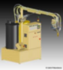Inyectora de poliuretano