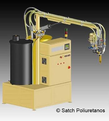 Inyectora poliuretano