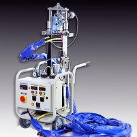 Maquina inyectora de poliuretano