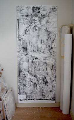 Studio shot of Hidden figure in X-r