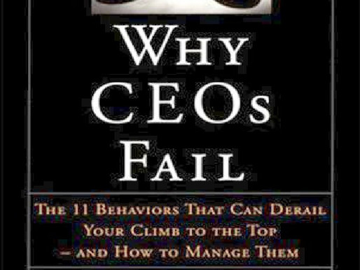 'Why CEOs Fail'