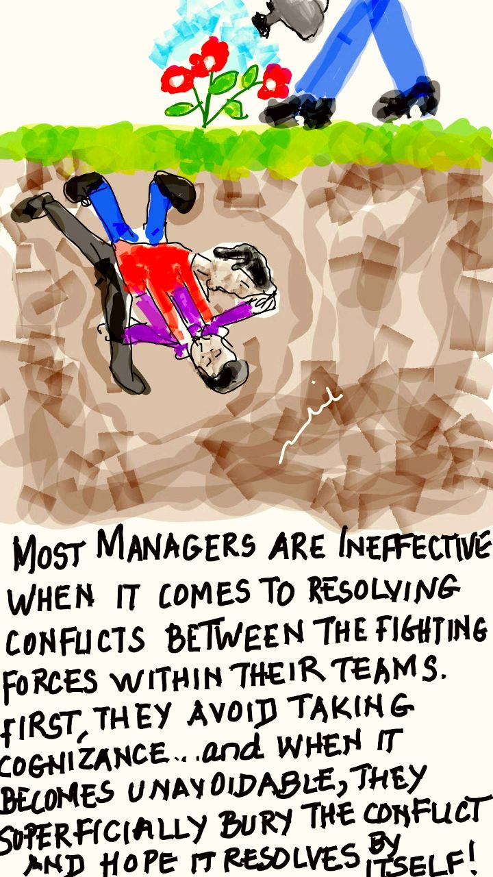 Managerial Inability to Handle Conflicts
