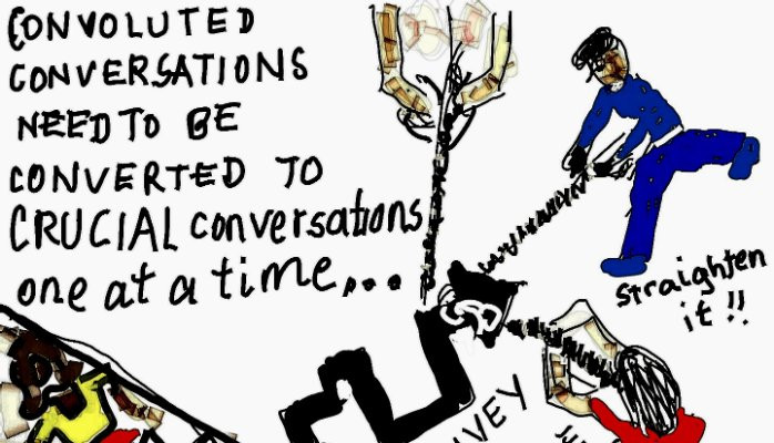 Converting 'Convoluted Conversations' through 'Critical Conversations'...one at a ti