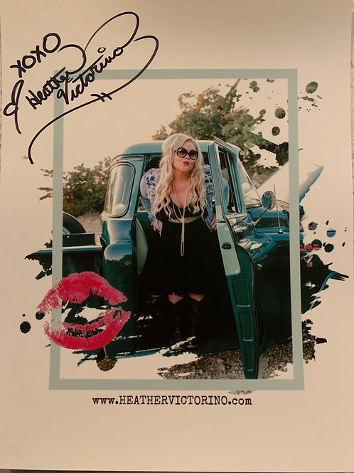 Autographed Picture w/ Sticker