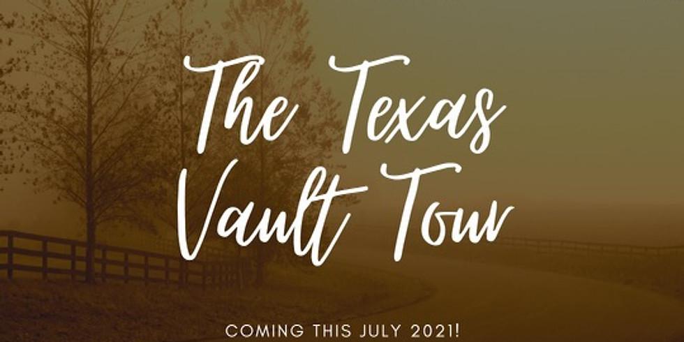Texas Vault Tour Kick off Party!