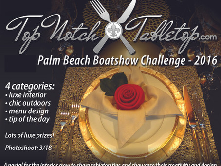 Top Notch Tabletop Challenge @ the Palm Beach Boat Show 2016