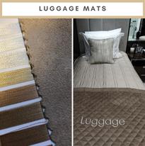 1 INSTA 1 Bedding 7 Luggage Mats by Aqua