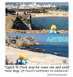 Luka Peruzovic Quick Stop in Antibes before heading home to take of you all (LP