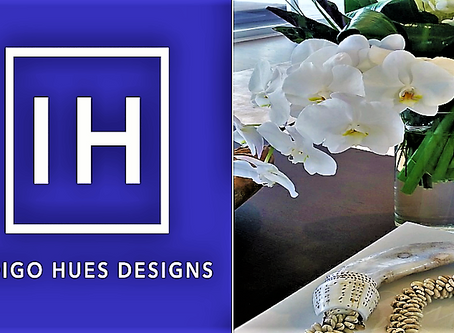 Indigo Hues Designs: Floral Tips