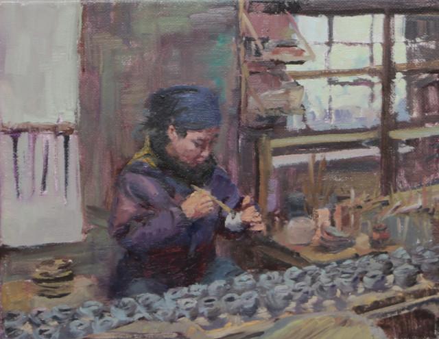 Saora Painting Sketch