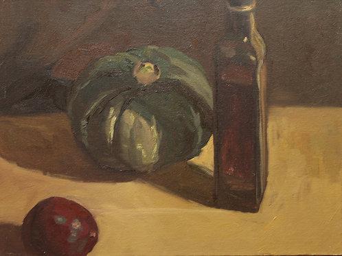 Pumpkin Portraits, 3 Objects