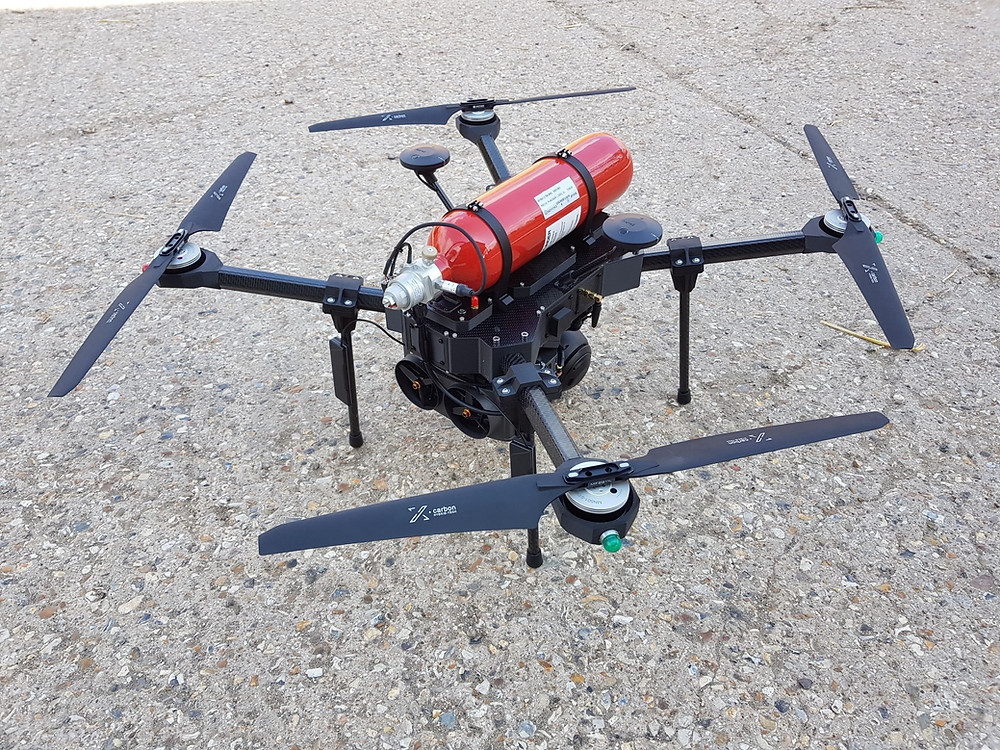 iss aerospace, ams cylinders, hydrogen fuel cell uav, drones, drone, uas, uav, suas, suas news