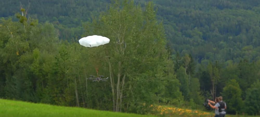 drone parachutes, drone parachute, drones, drone, uas, uav, suas, commercial drone, faa part 107, wetalkuav