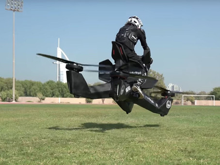 Hoverbikes are finally here, but don't expect to fly cheap