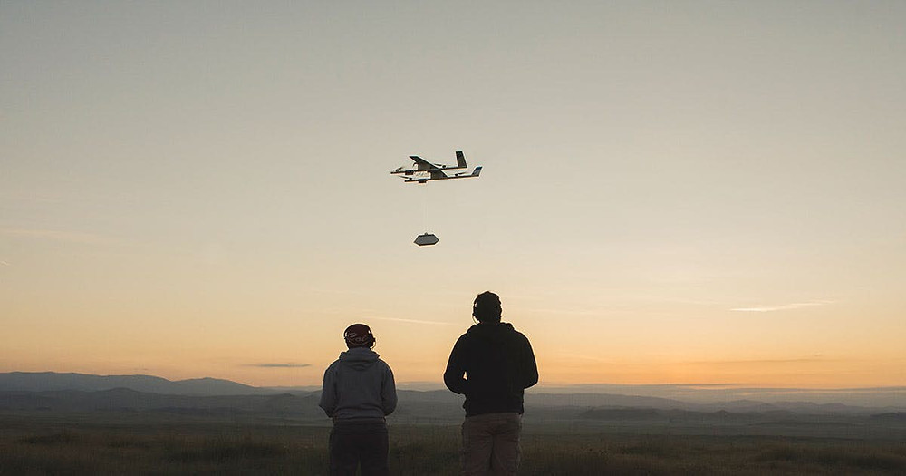 alphabet, alphabet wing, wind drones, google, google drone delivery, wing drone delivery, drone delivery, drones, drone, uas, uav , suas, commercial drone, drone technology, new atlas